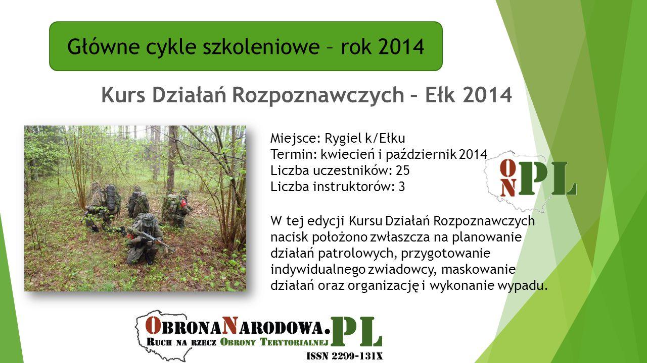 Kurs Działań Rozpoznawczych – Ełk 2014