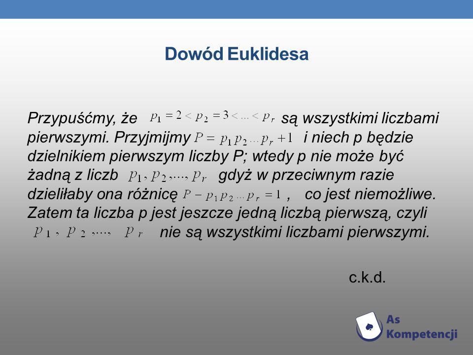 Dowód Euklidesa