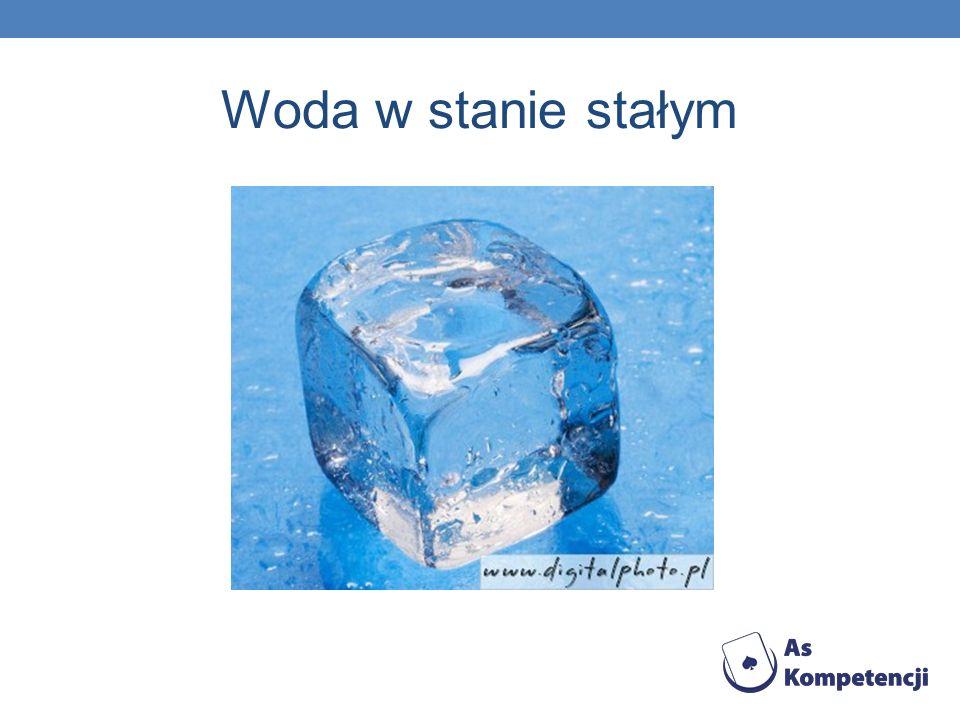 Woda w stanie stałym