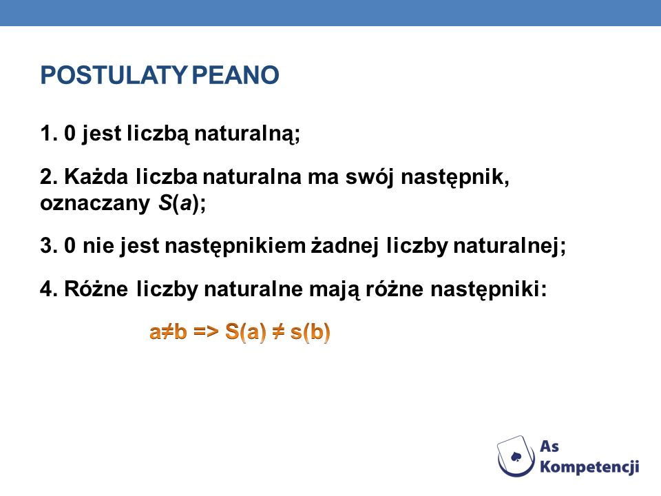 Postulaty peano