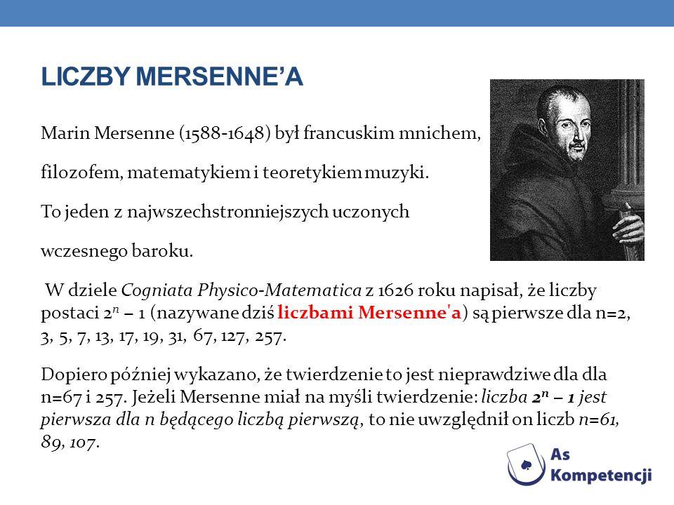 Liczby Mersenne'a