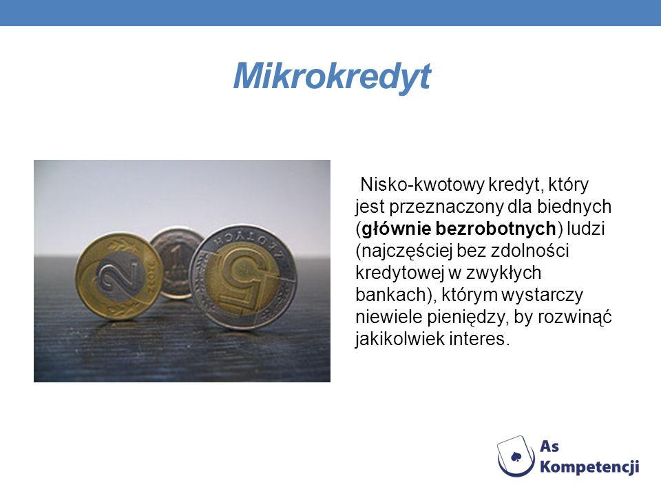 Mikrokredyt