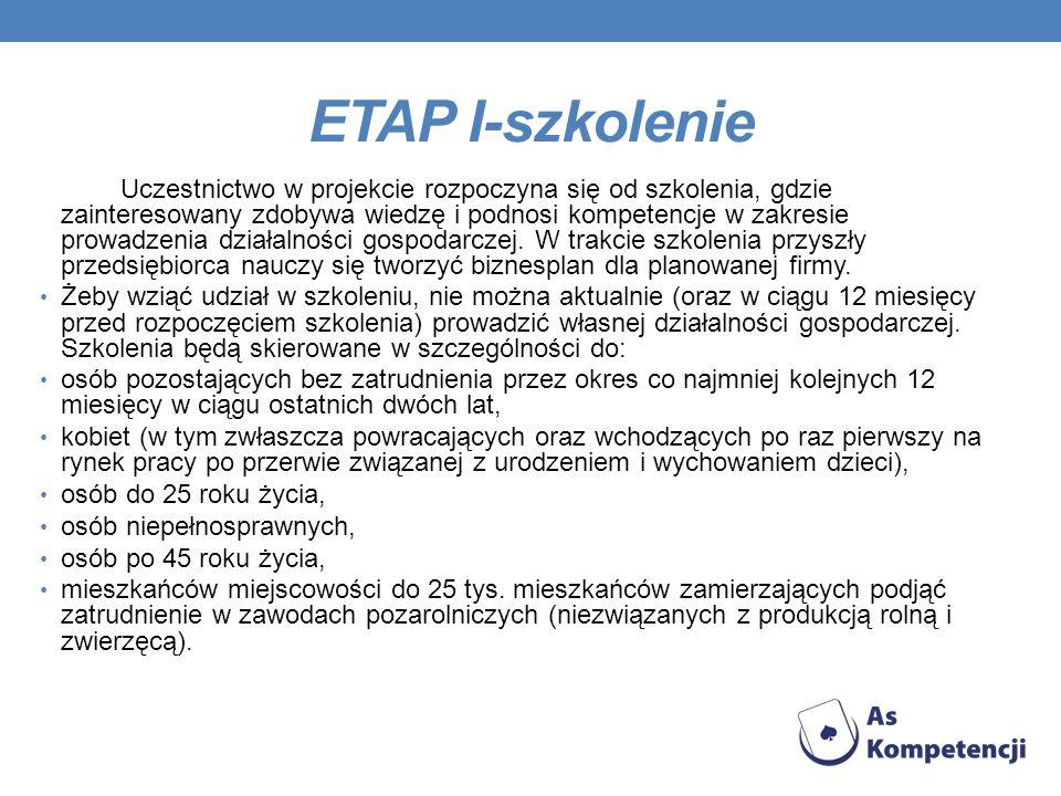 ETAP I-szkolenie