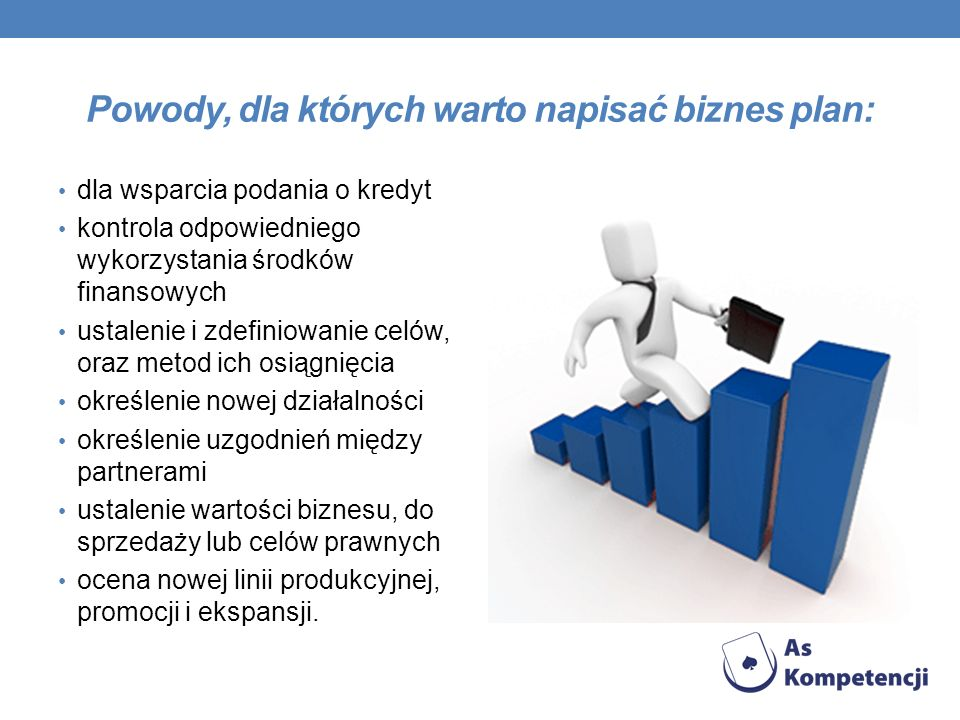 Powody, dla których warto napisać biznes plan: