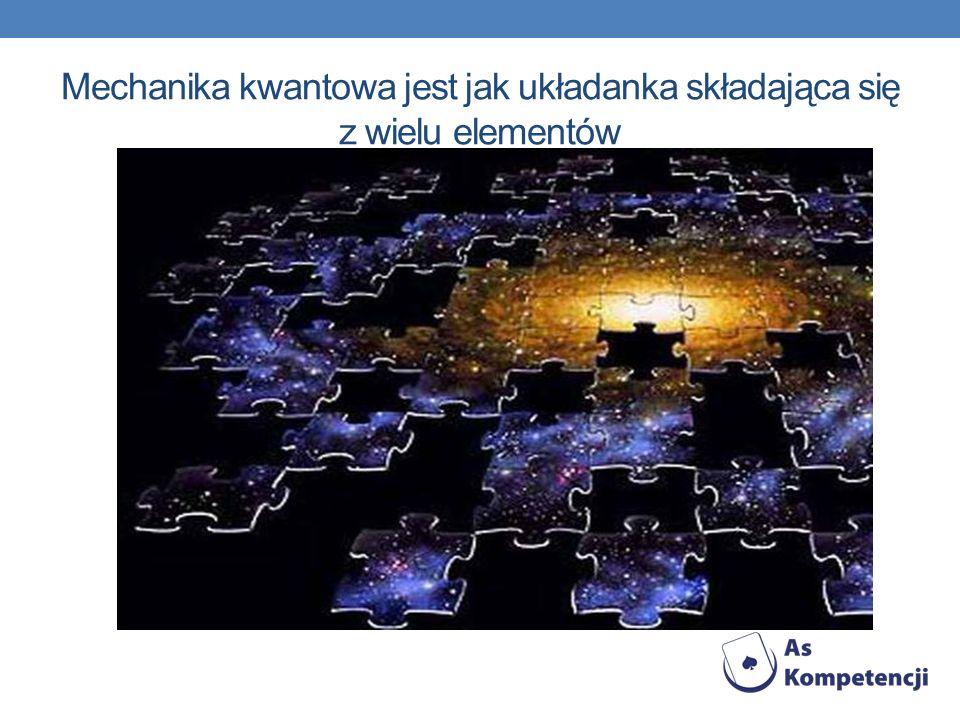 Mechanika kwantowa jest jak układanka składająca się z wielu elementów