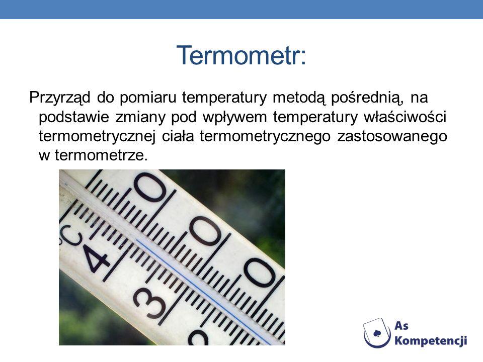 Termometr: