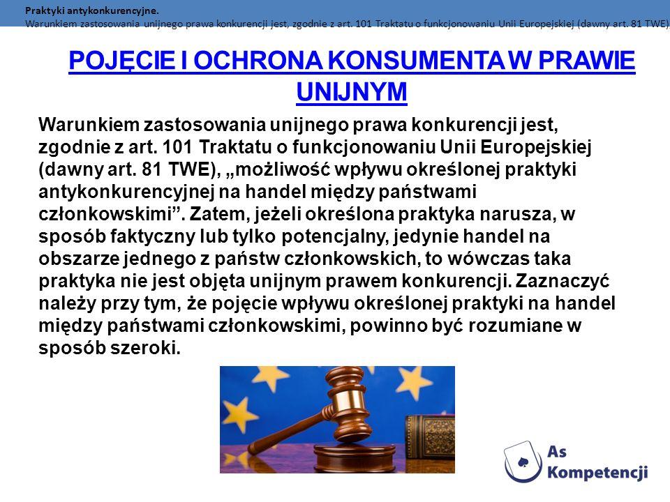 Pojęcie i ochrona konsumenta w prawie unijnym