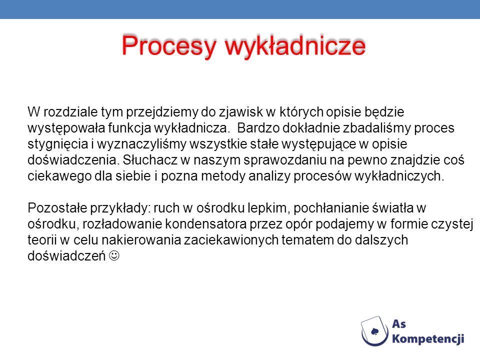 Procesy wykładnicze