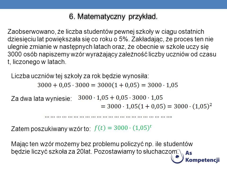 6. Matematyczny przykład.