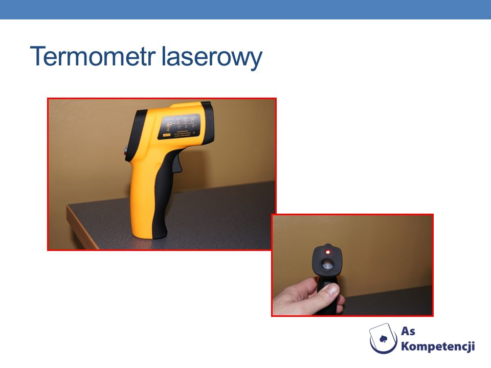 Termometr laserowy