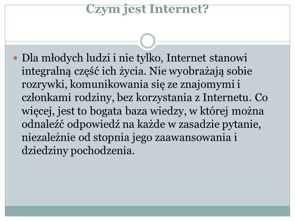 Czym jest Internet