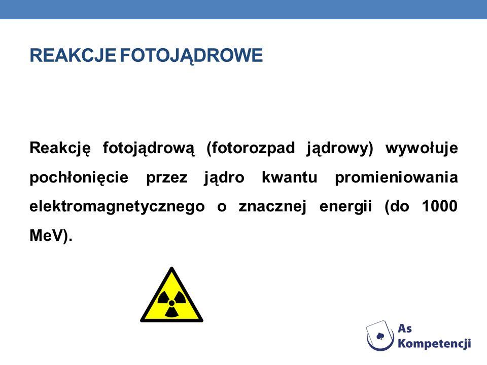 Reakcje fotojądrowe