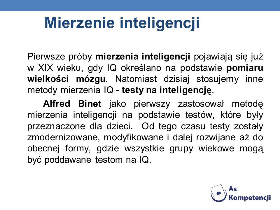 Mierzenie inteligencji
