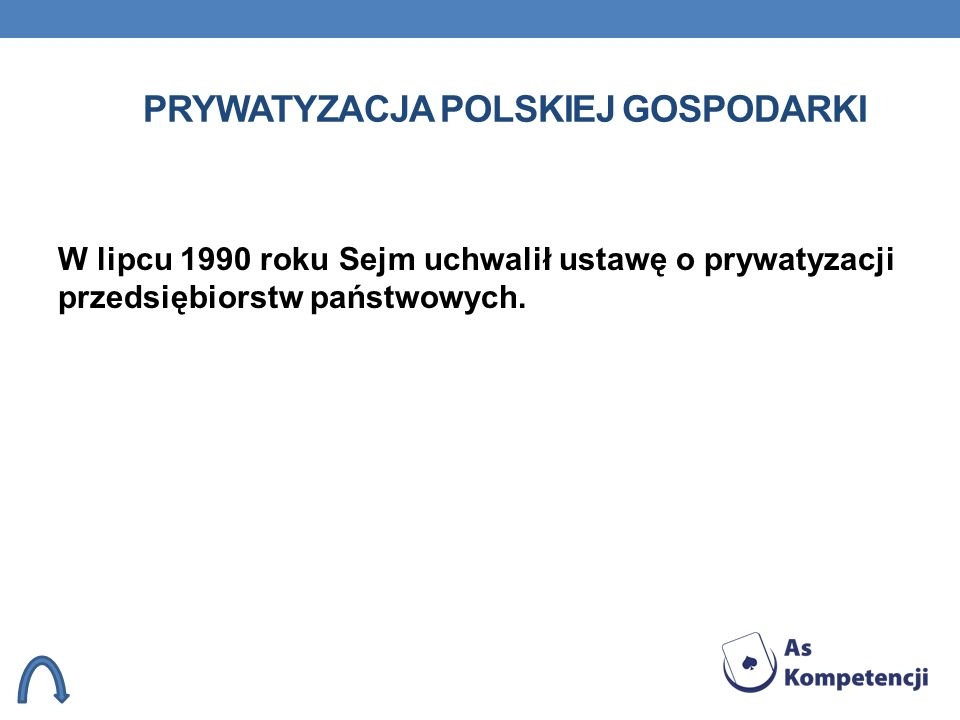 Prywatyzacja polskiej gospodarki