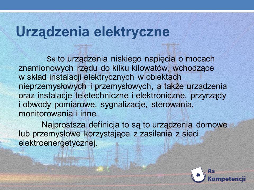 Urządzenia elektryczne