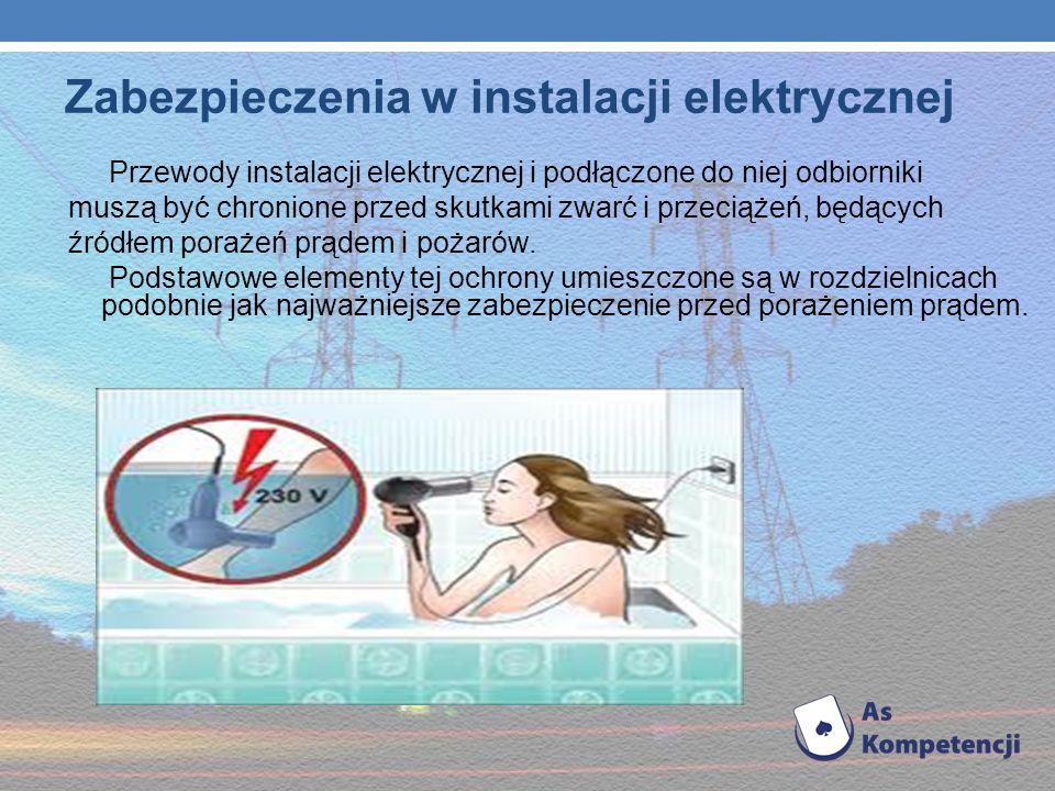 Zabezpieczenia w instalacji elektrycznej