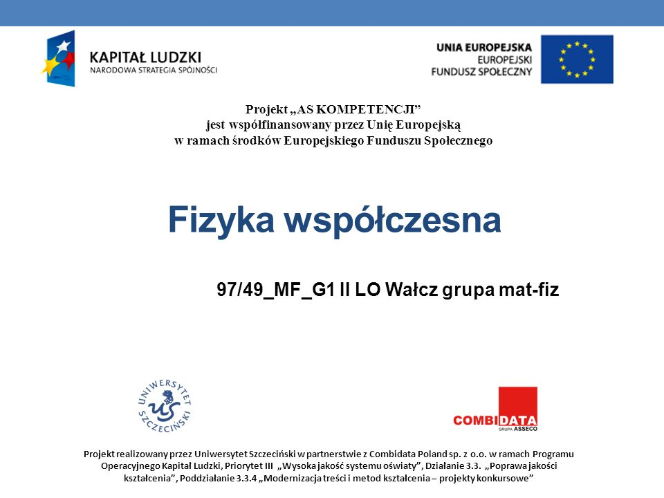 97/49_MF_G1 II LO Wałcz grupa mat-fiz