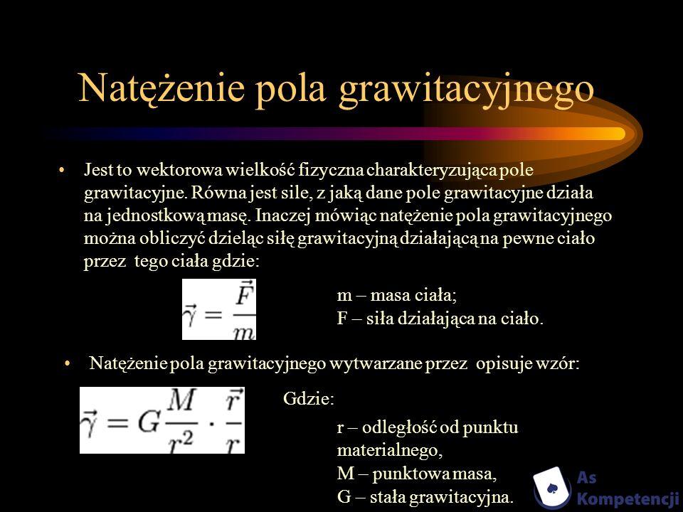 Natężenie pola grawitacyjnego