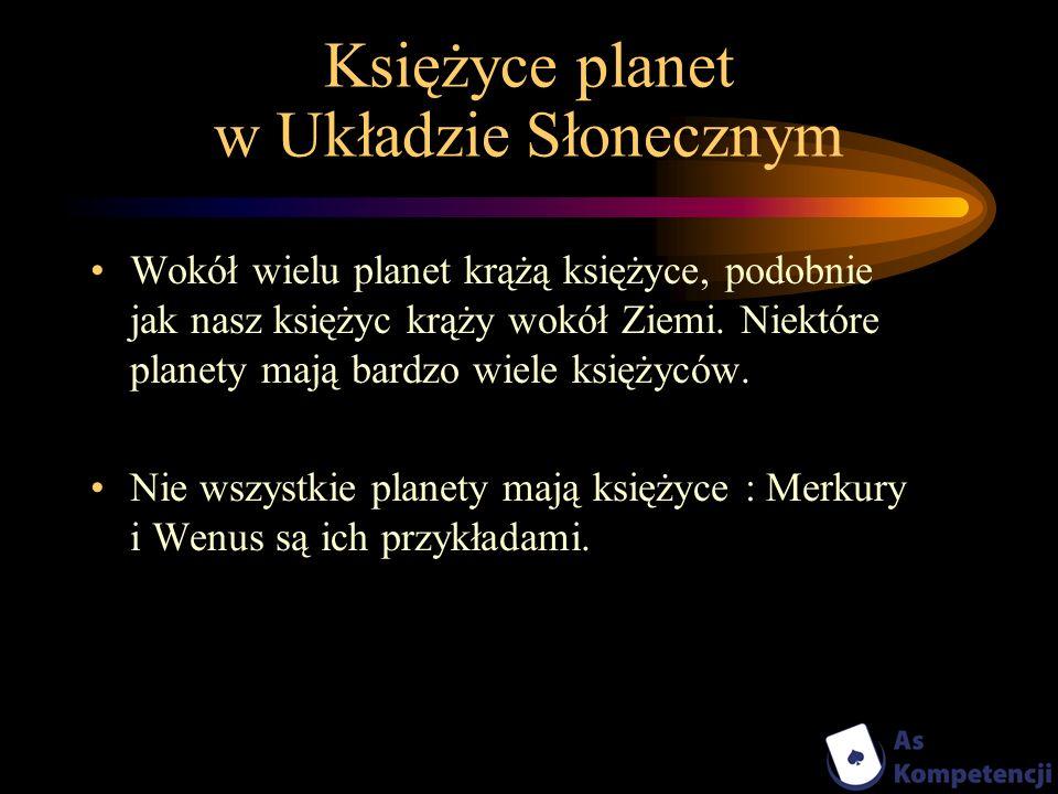 Księżyce planet w Układzie Słonecznym