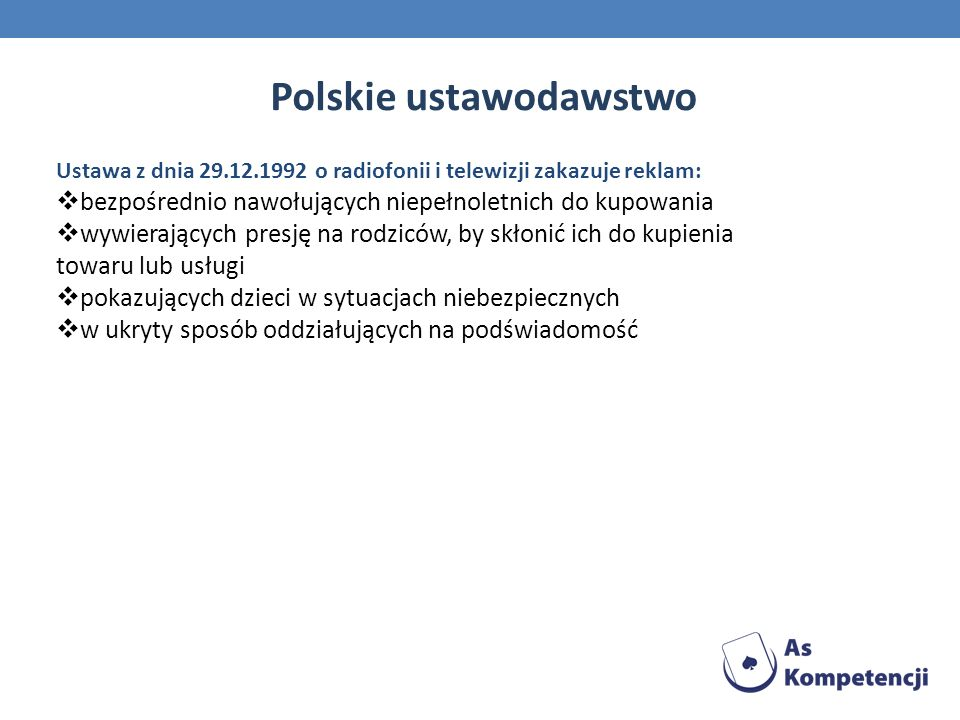 Polskie ustawodawstwo