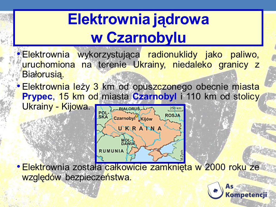 Elektrownia jądrowa w Czarnobylu