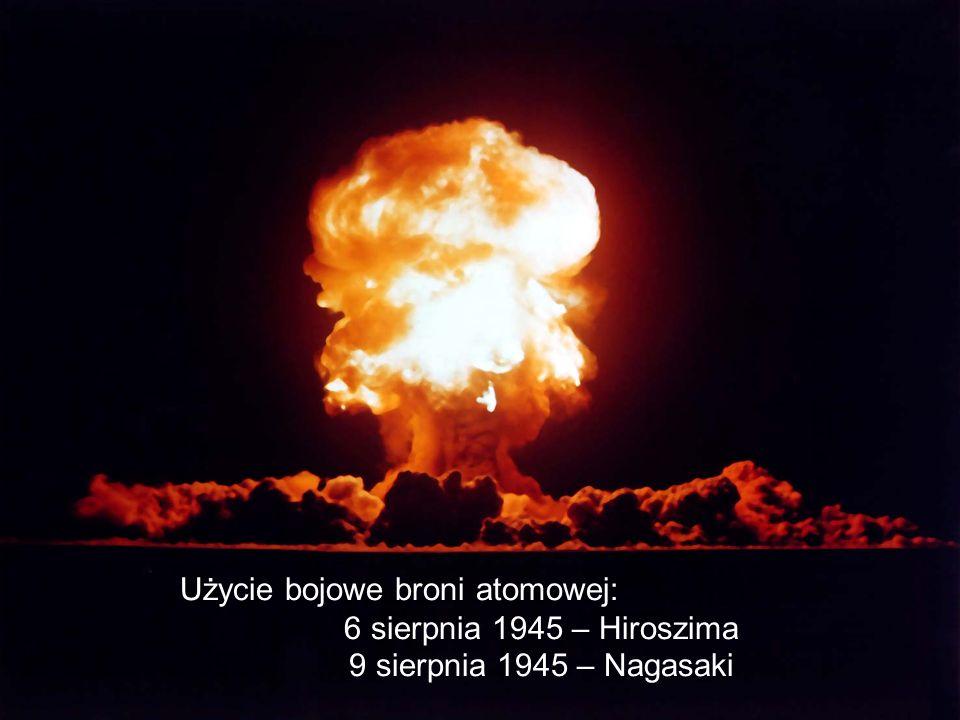 Użycie bojowe broni atomowej: