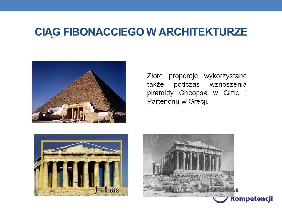ciąg Fibonacciego w architekturze