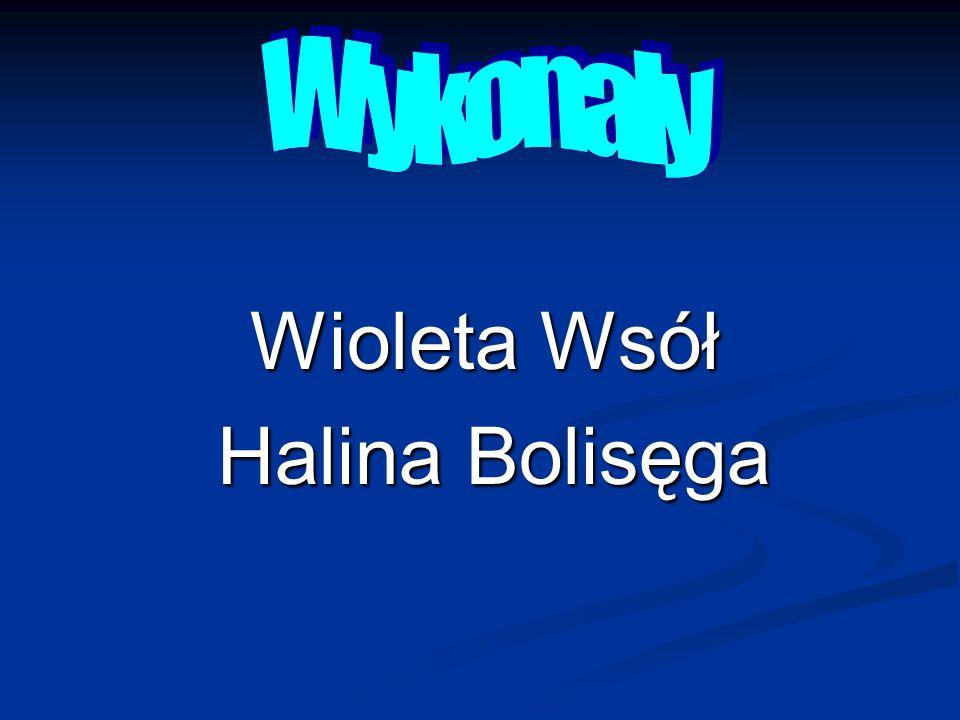 8 Wykonały Wioleta Wsół Halina Bolisęga