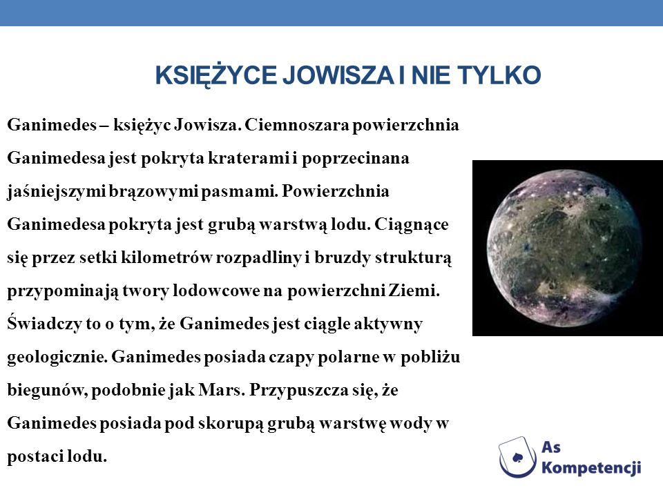 Księżyce Jowisza i nie tylko