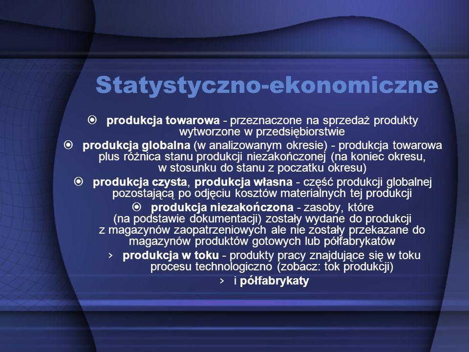 Statystyczno-ekonomiczne