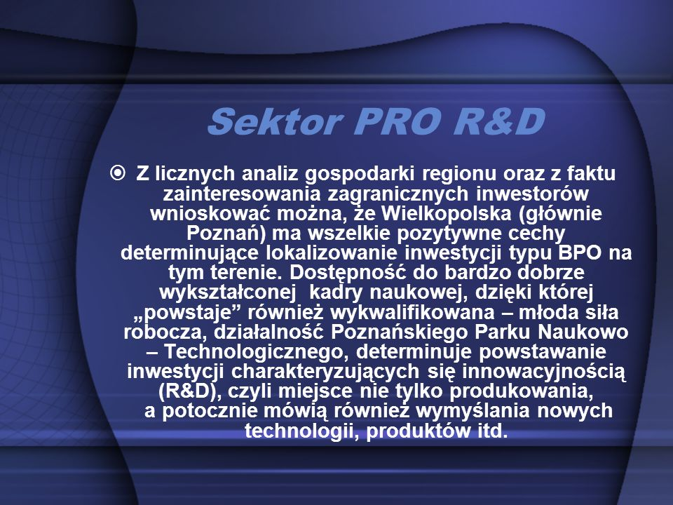 Sektor PRO R&D