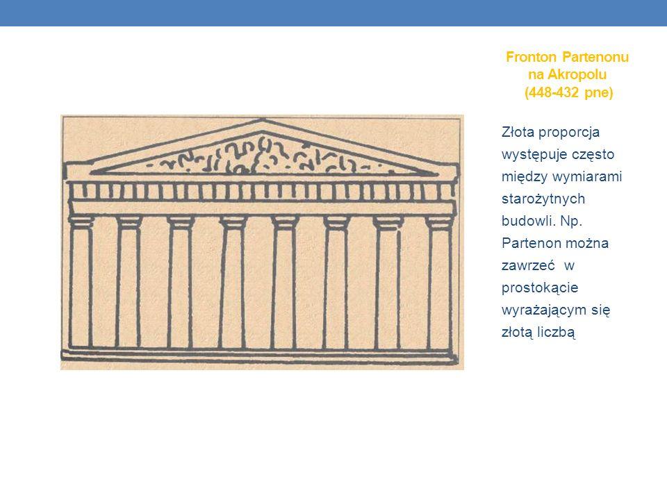 Fronton Partenonu na Akropolu (448-432 pne)
