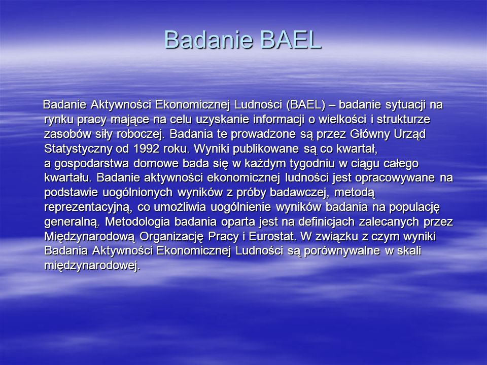 Badanie BAEL