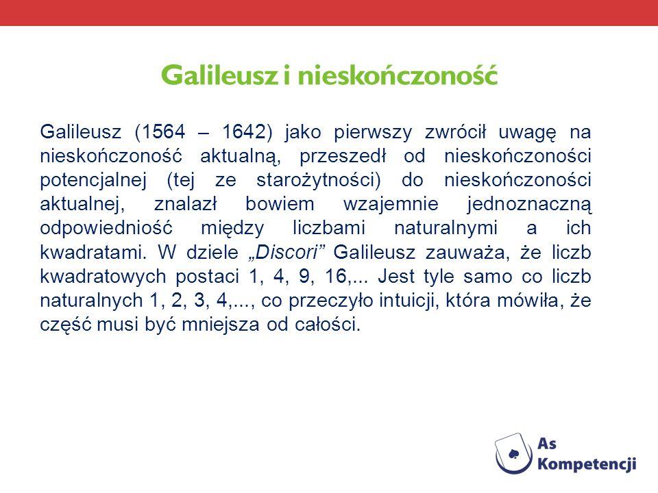 Galileusz i nieskończoność
