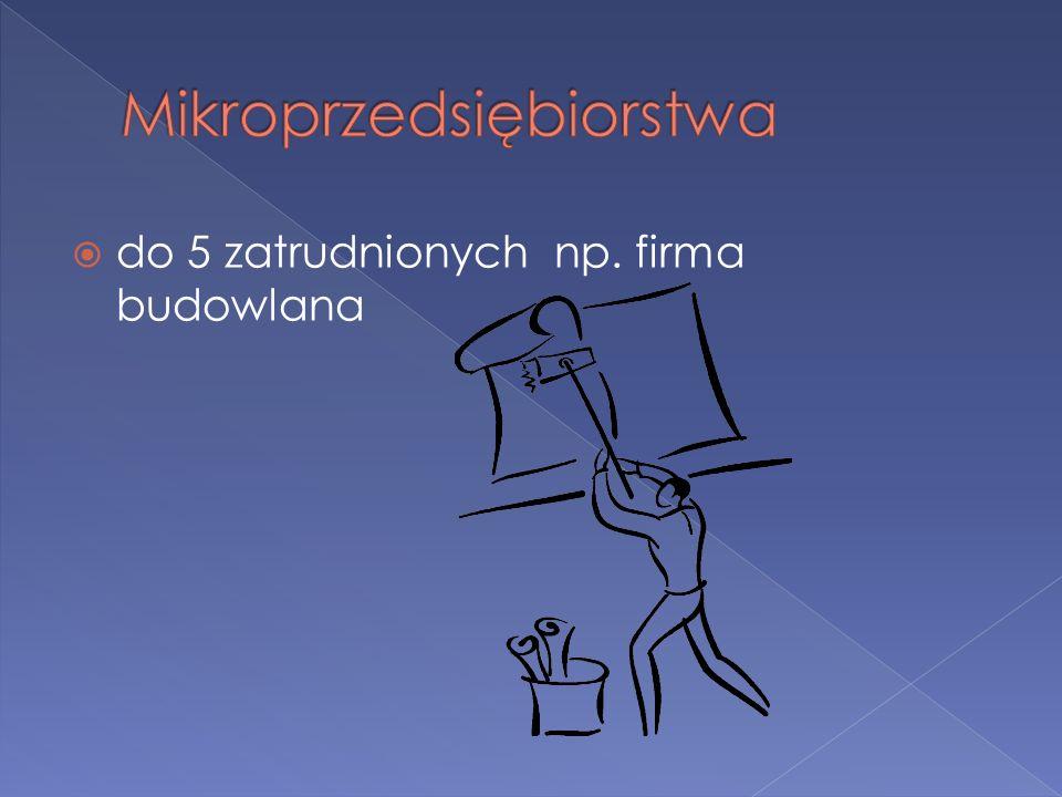 Mikroprzedsiębiorstwa