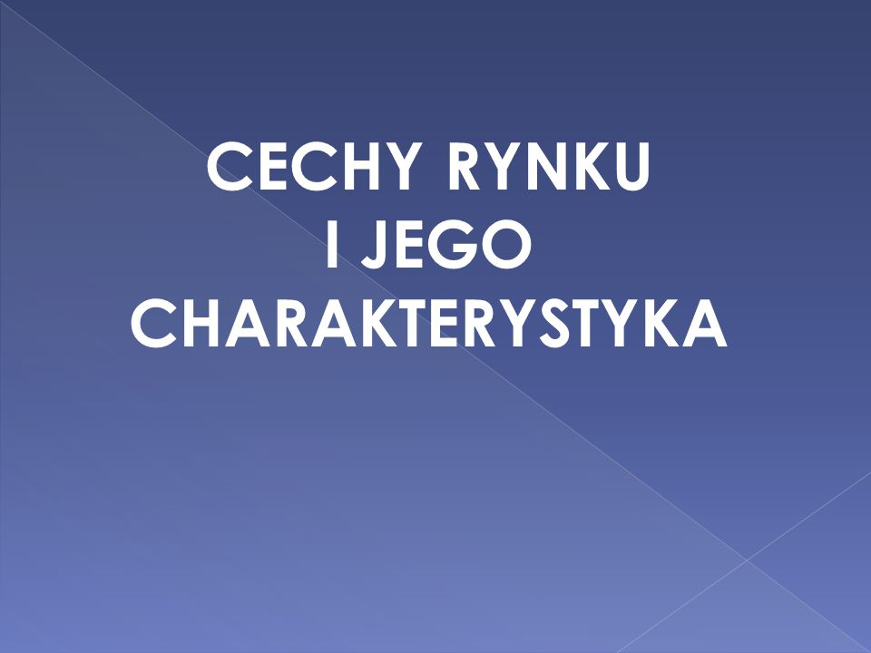 I JEGO CHARAKTERYSTYKA