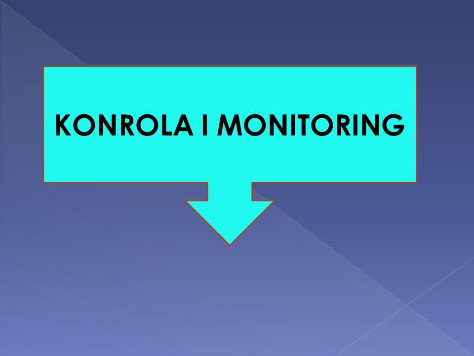 KONROLA I MONITORING
