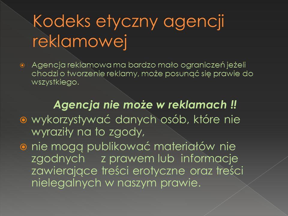 Kodeks etyczny agencji reklamowej