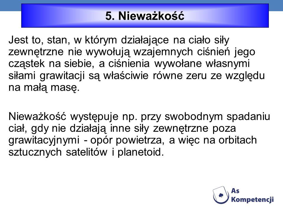 5. Nieważkość