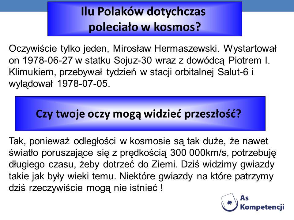 Ilu Polaków dotychczas Czy twoje oczy mogą widzieć przeszłość