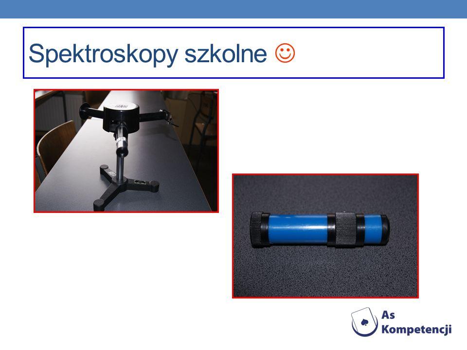 Spektroskopy szkolne 