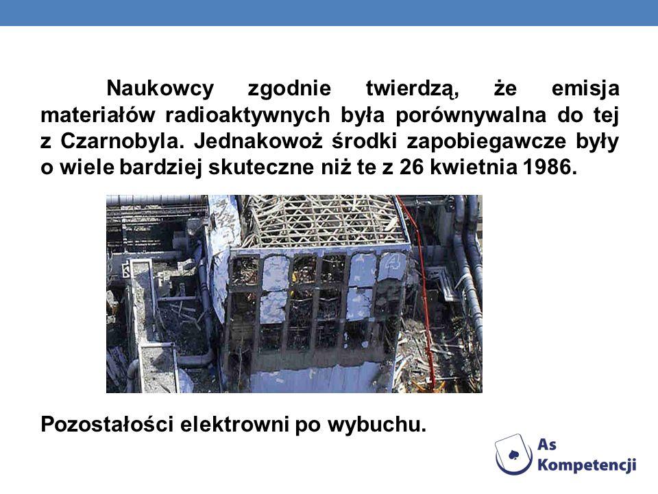 Naukowcy zgodnie twierdzą, że emisja materiałów radioaktywnych była porównywalna do tej z Czarnobyla.