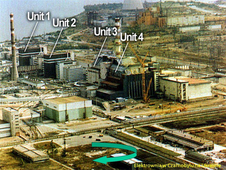 Elektrownia w Czarnobylu na Ukrainie