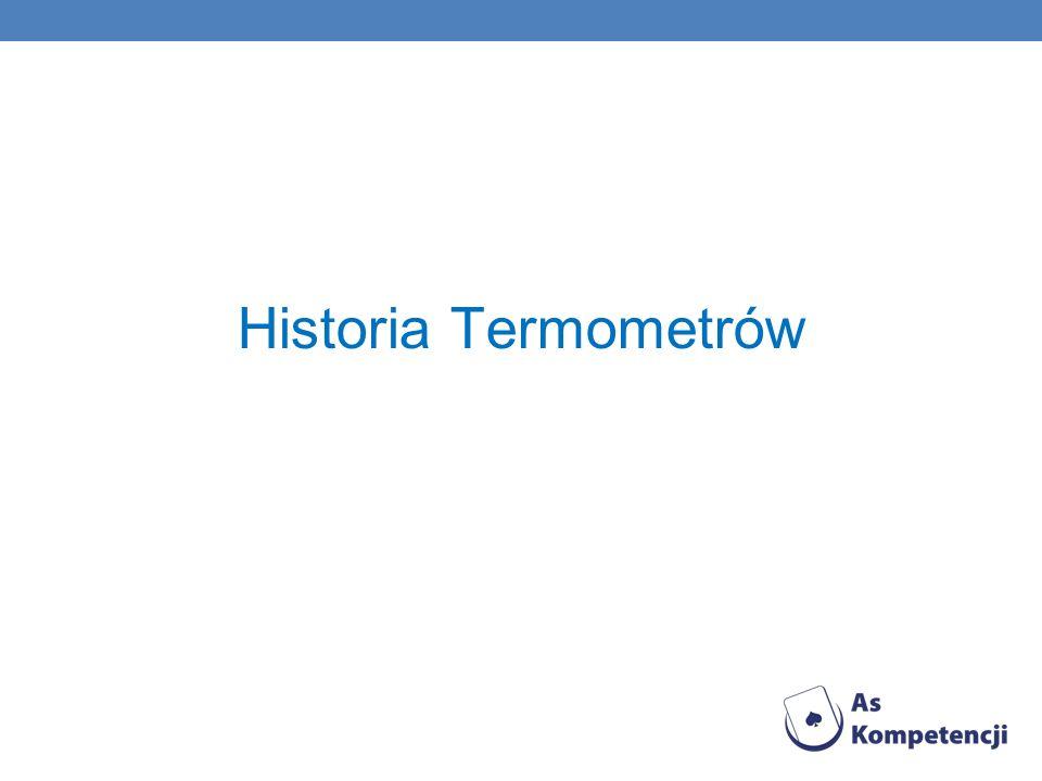 Historia Termometrów