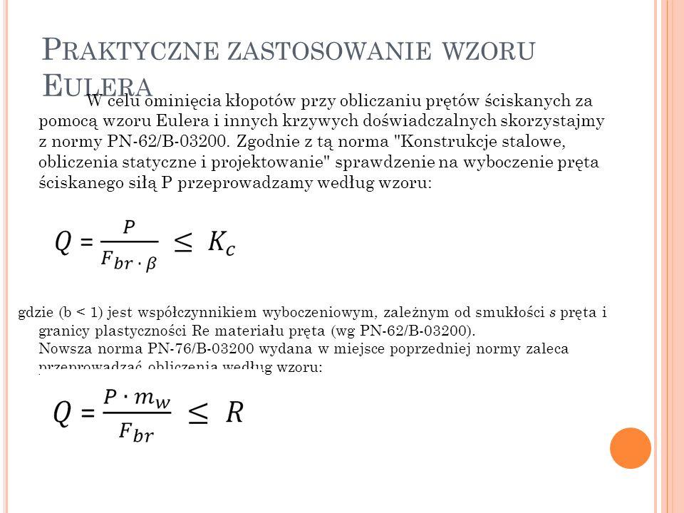 Praktyczne zastosowanie wzoru Eulera