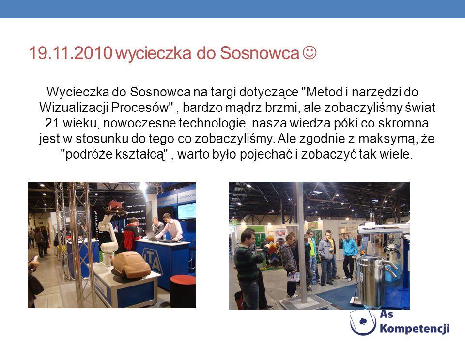 19.11.2010 wycieczka do Sosnowca 