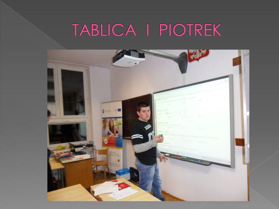 TABLICA I PIOTREK