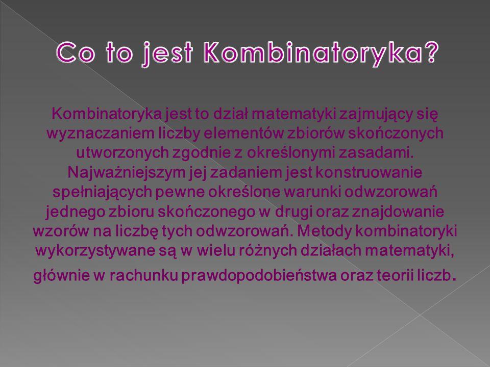 Co to jest Kombinatoryka