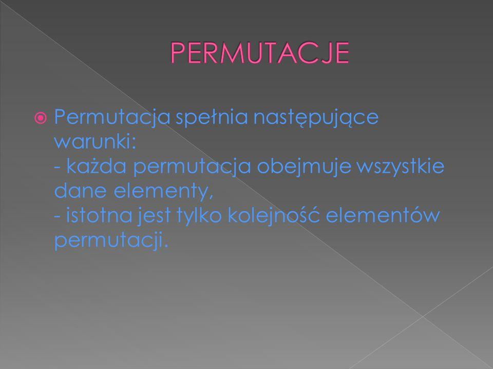 PERMUTACJE