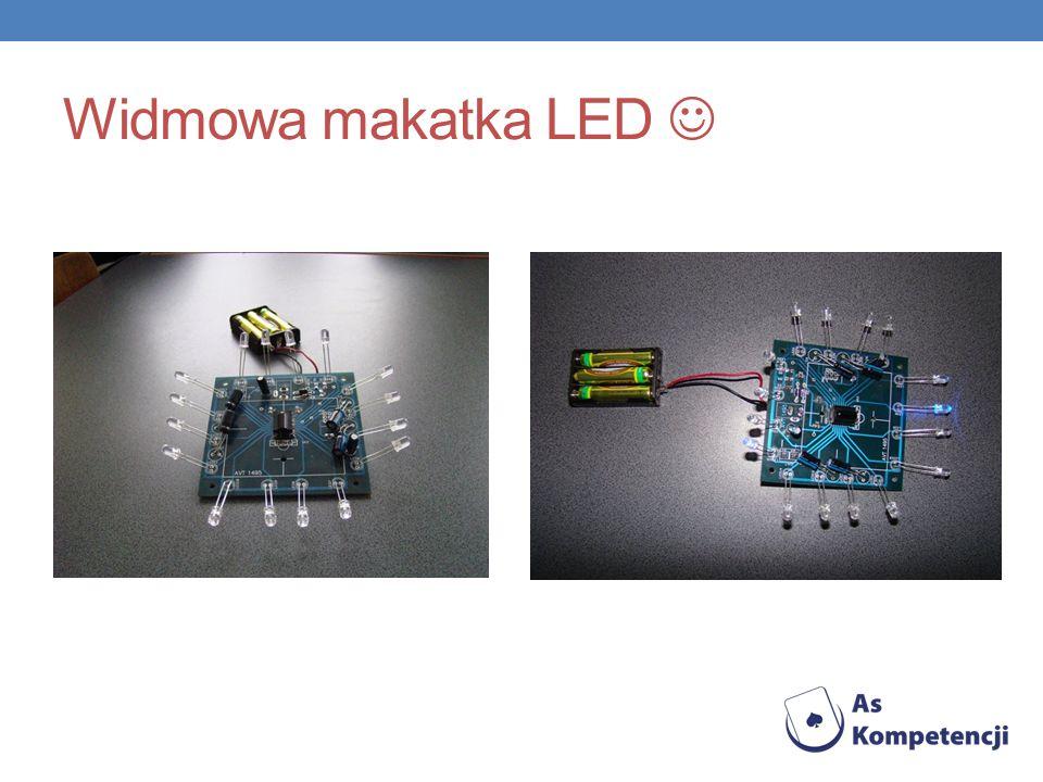 Widmowa makatka LED 